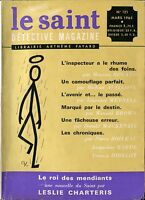 Le Saint Détective Magazine N°121 - Mackenzie, Roland, Avallone... - Mars 1965