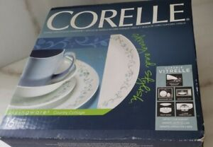 16 Piece Dinnerware Set Classic Country Cottage Plates Bowls Mugs Set By Corelle