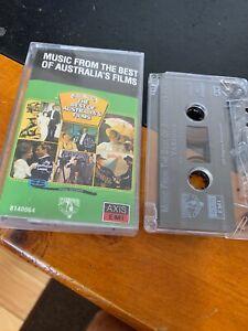 Music From Australia's Films Cassette Tape