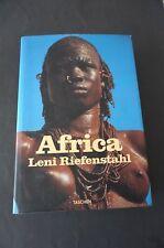 Livre de photographies  AFRICA de Leni Riefenstahl