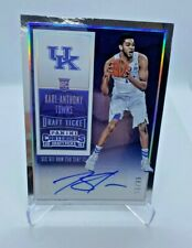 🔥 KARL ANTHONY TOWNS 2015-16 CONTENDERS ROOKIE RC Signatures  AUTO /99 🔥