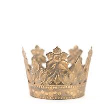Gold Crown Cake Topper, Antique Gold Crown, Crown Photo Prop, Vintage Crown