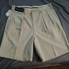 Polo Ralph Lauren Premium Mens Golf Shorts - Tyler - Size 34 - Color Khaki - NWT