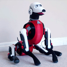 KiE, K9 Robot Dog / Open Sourse / 3D STL files / Arduino