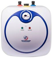 2.5 gal. Mini Tank Electric Water Heater RV Office Boats Small Spaces Compact