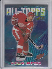 99/00 OPC Chrome Detroit Red Wings Nicklas Lidstrom All-Topps card #AT5
