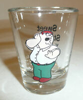 Peter Griffin - Family Guy Cartoon Shot Glass Funny Statutory You Look Beautiful