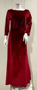 Women's Miss Look Velvet Dress