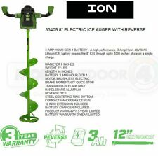 33405 Ion 8 Inch Gen 1 Electric Ice Fishing Hole Auger Reverse