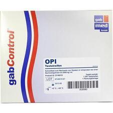 DROGENTEST Opiate 2000 ng/ml Teststreifen 1St 3026980