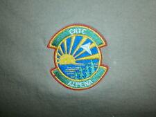 CRTC ALPENA T SHIRT Combat Readiness Training Center Michigan Air National Guard