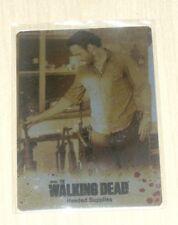 2014 Cryptozoic Walking Dead Season 3 GOLD METAL card #53 Needed Supplies RICK/3