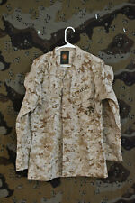 USMC Marines Desert MARPAT Digital Camo Jacket, Size Small Regular