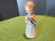 """Anri Ferrandiz The Bouquet or Girl With Flowers Figurine Woodcarving 3"""""""