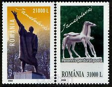 2004 JUDAICA,Horses,Ianchelevici,jewish sculptor,Art,Romania-Belgium,Mi.5863,MNH