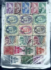 PAKISTAN, 100 PACKETS OF 100 ALL DIFFERENT, 10,000 STAMPS USED, 12 YEARS OLD