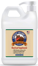 Grizzly All-Natural  Alaskan Salmon Oil Dog Food Supplement 64.oz EXP:01/2021
