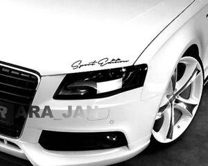 Sport Edition Decal Sticker racing car hood emblem logo performance motorsport