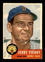 1953 Topps Set Break # 113 Jerry Priddy PR *OBGcards*