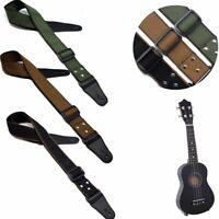 des pièces pur coton sangle de guitare basse acoustique le cuir finit réglable