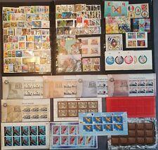 Schweiz 2000-2003, Sammlung mit Blocke, Kleinbogen MNH postfrisch - siehe Foto