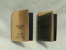 Tom Ford 'Noir Extreme' EDP Perfume Set of 2 Sample Spray Vials Beautiful!