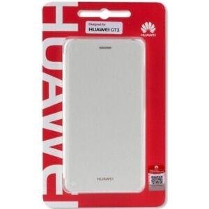 Original Huawei 51991634 Flip Wallet Cover für GT3 Honor 7 lite Honor 5C weiss