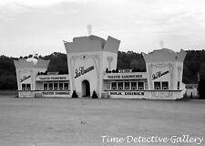 Ice Cream Stand, Berlin, Connecticut - 1939 - Historic Photo Print