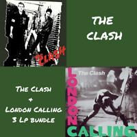 The Clash - The Clash/London Calling - Album Bundle - 3 x 180gram Vinyl LP *NEW*