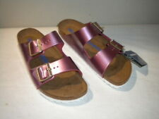 New Womens BIRKENSTOCK Arizona BS Speculum Pink EU 41 Narrow US 10
