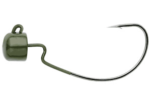 Owner Block Head Offset Finesse Jigheads - Choice of Sizes and Colors