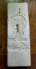 1 Kilo .999 Silver SilverTowne Poured Bar 1000 grams 32.15 oz