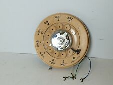 Western Electric Rotary Phone Dial WORKS, 9C 11-68