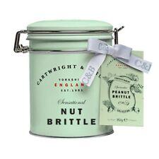 NEW Cartwright & Butler Peanut Brittle In Tin