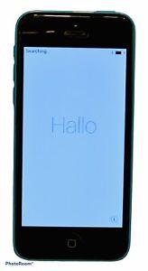 Apple iPhone 5c - 32GB - Blue (Verizon) A1532 (CDMA + GSM), W/ Gold Phone Case.