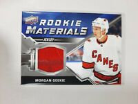 2020-21 Upper Deck Series 2 Morgan Geekie Rookie Materials Jersey Relic #RM-MG