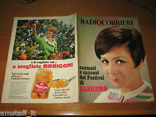 TV RADIOCORRIERE 1967/4=RENATA MAURO=SANDRO BOLCHI=MARIO DEL MONACO=SANREMO=