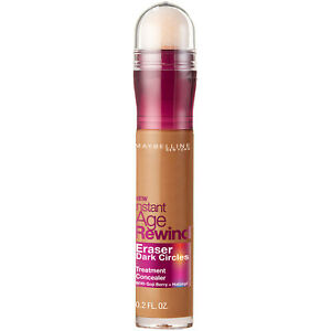 Maybelline Instant Age Rewind Eraser Dark Circles Treatment Concealer Tan 0.2oz