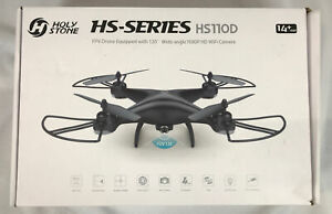 Holy Stone HS-Series HS110D FPV Drone 120 Degree Wide Angle 1080P HD WiFi Camera