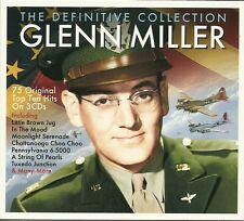 THE DEFINITIVE COLLECTION GLENN MILLER - 3 CD BOX SET - IN THE MOOD & MANY MORE