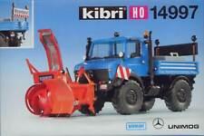 Kibri 14997 - Unimog mit Seitenschneefräse 1:87 H0 * NEU