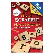 Merriam-Webster® The Official SCRABBLE® Players Dictionary - 5th Edition
