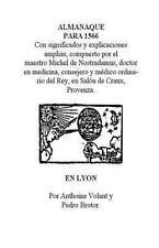 Almanaque Para 1566 by Manuel Sanchez (2012, Paperback)