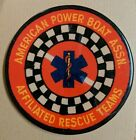 American Power Boat Association Affiliated Rescue Teams Routed Wood Patch Plaque
