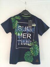 T shirt TIFFOSI DONY Taille 9/10 ans 140 cm Couleur Bleu 100% Coton
