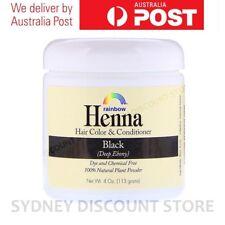 Rainbow Research Henna 100%25 Botanical Hair Color Black 4Oz