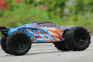 Traxxas 86086-4 Orange E-Revo Brushless 4WD 2.4GHz Tqi Vxl 2.0 1:8 New Boxed