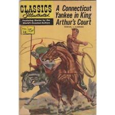 Classics Illustrated #24 A Connecticut Yankee in King Arthur's Court Hrn153