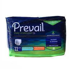 Prevail Daily Underwear Adult Diaper Size Youth/Adult Small, Pull Up 22 Count