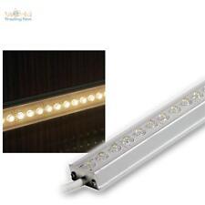 49,96€/m LED Aluminium Baguette 25cm blanc chaud IP65 Bande lumineuse
